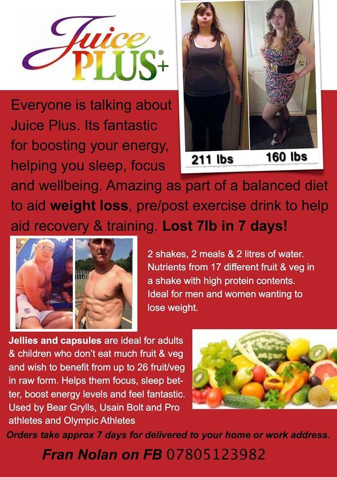 juice plus 14 day detox diet plan