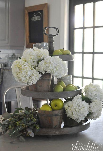 Best 25+ Kitchen table centerpieces ideas on Pinterest | Dining table  centerpieces, Wine bottle centerpieces and Dinning table centerpiece