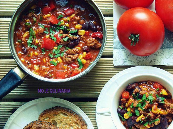 Moje Qulinaria: Chili con carne