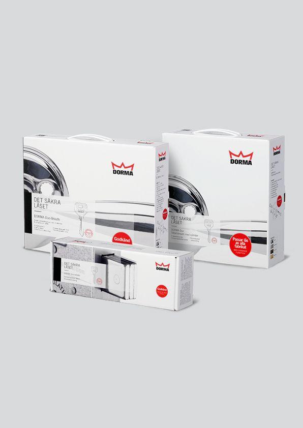 Dorma packaging design on Behance