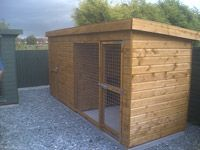 These days there are variety of #dogkennels for sale for your dog security. Call Kevin on 01405 765400 now! #shedsdirect