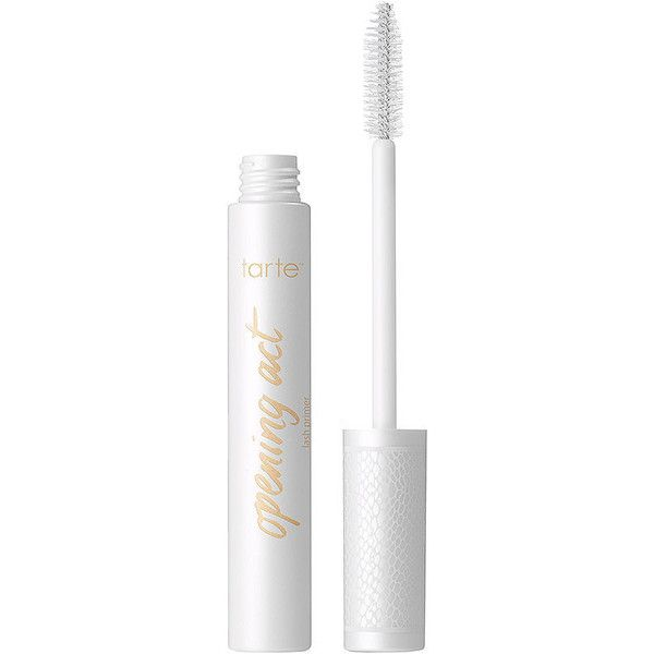 tarte opening act lash primer, white 0.24 oz (7.1 ml) (£15) ❤ liked on Polyvore featuring beauty products, makeup, beauty, fillers, mascara, tarte, tarte makeup and tarte cosmetics