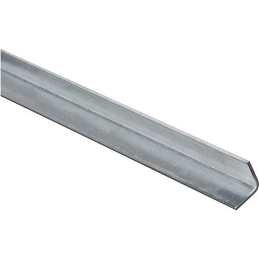 National Mfg. 1X3' Galv Solid Angle N179929 Unit: Each, Silver steel