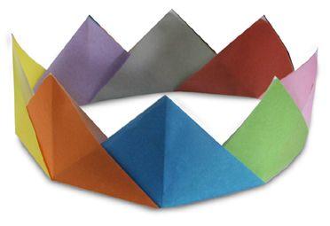 origami crown