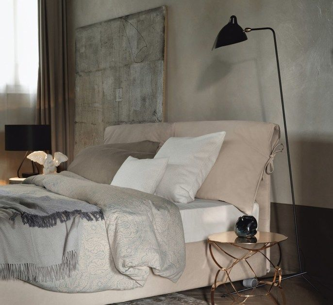 Letto Matrimoniale Nathalie Flou Prezzo.Double Bed With Removable Cover Nathalie Double Bed By Flou