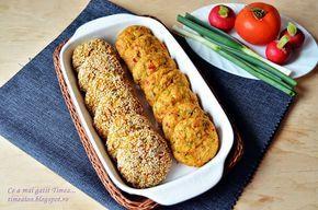 Chiftele din legume la cuptor   Retete Timea