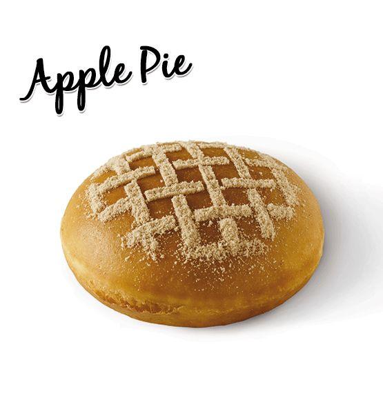 Apple Pie Krispy Kreme Food & Drink Pinterest