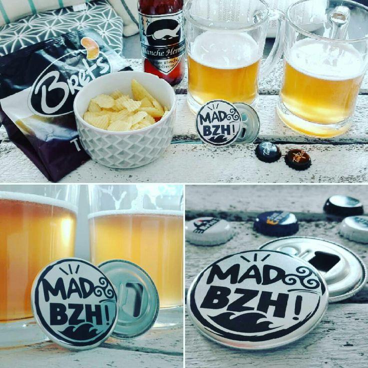 Le magnet décapsuleur MAD BZH s'invite chez vous pour l'apéro #madbzh #magnet #decapsuleur #shop #bzh #breizh #bretagne #morbihan