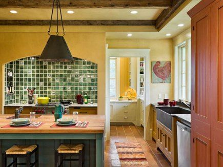 LOVE love love the range niche, the bar, the colors... ok pretty much everything!: Kitchens Design, Farmhouse Design, Vansant Architects, Farmhouse Kitchens, Farms Lyme, Ideal Kitchens, Hill Farms, New Hampshire, Derby Hill