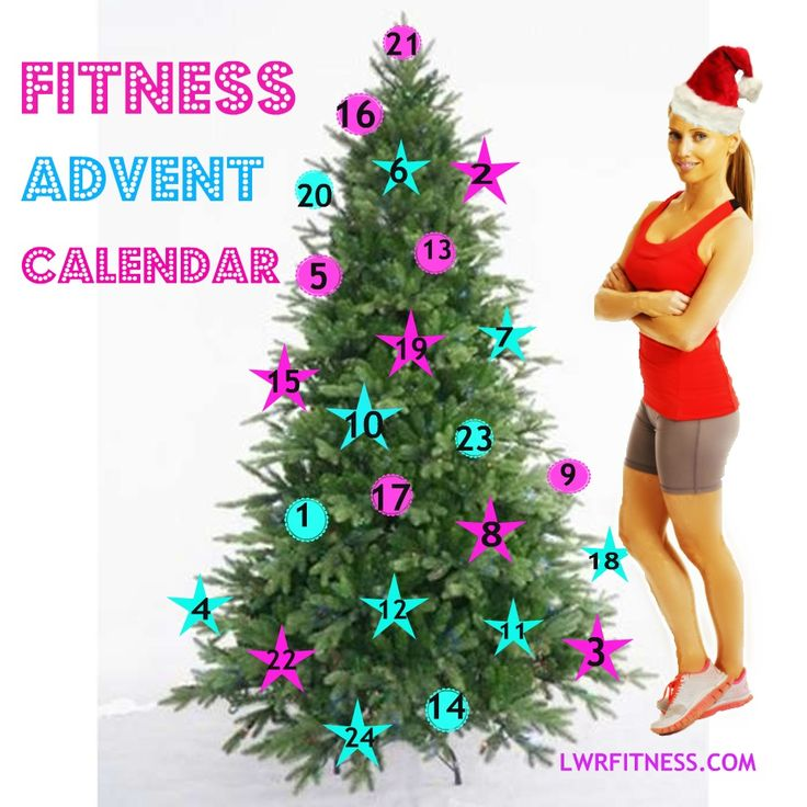Fitness Advent Calendar starting right here on December the 1st. Every day a new fitness challenge or nutrition tip! Keeping you motivated through the festive season and keeping the sparkle in your fitness. Lucy x