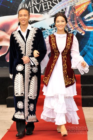 kazakhstan's traditional costume ,Limkokwing University of Creative Technology