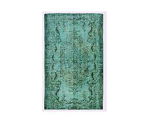Handgemaakt Perzisch tapijt Joep, turquoise, 253 x 151 cm