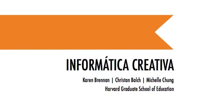 Desde que en la pasada Scratch Conference el equipo de Karen Brennan de la Universidad de Harvard presentó la nueva edición de la guía Creative Computing, hemos estado trabajando en una traducción al castellano que hoy tenemos el placer de ponera disposición de la comunidad.La iniciativa de traducir esta guía al