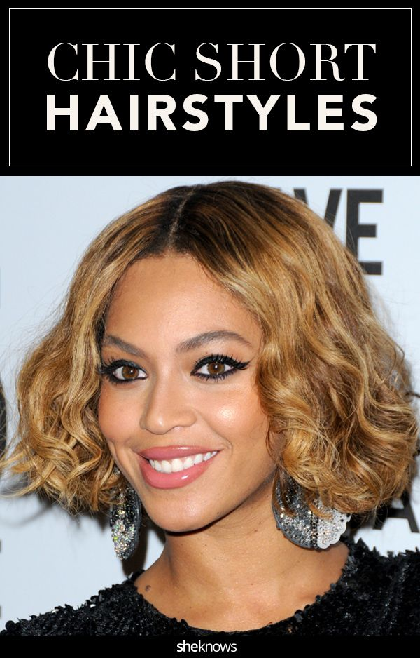 60 short hairstyle photos inspired by your favorite celebrities.