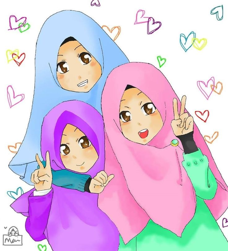 b'coz we're SISTERS!! by HijabTeenz.deviantart.com on @DeviantArt