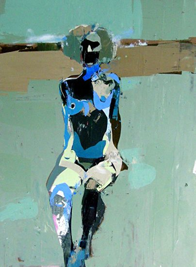 Suspended Women 41 by Kim Frohsin Mixed Media ~ x