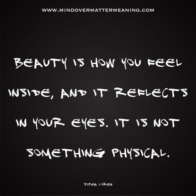 Beautiful quotes - Sophia Loren