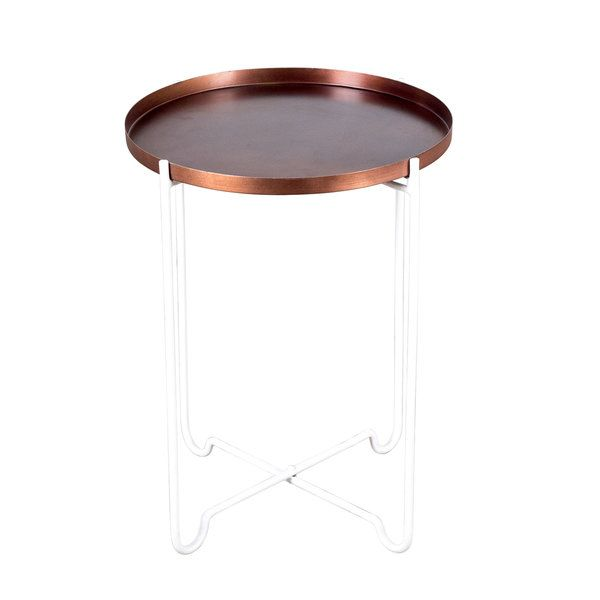 Copper Large Tray Table
