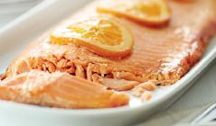 Specially Selected Side of Salmon with Honey & Maple Glaze