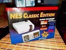 NES Classic Edition 500 Games Mini Console System Free Shipping New Box Nintendo