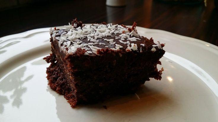 Gluten- og melkefri inspirasjon: Saftig gluten- og melkefri langpanne sjokoladekake