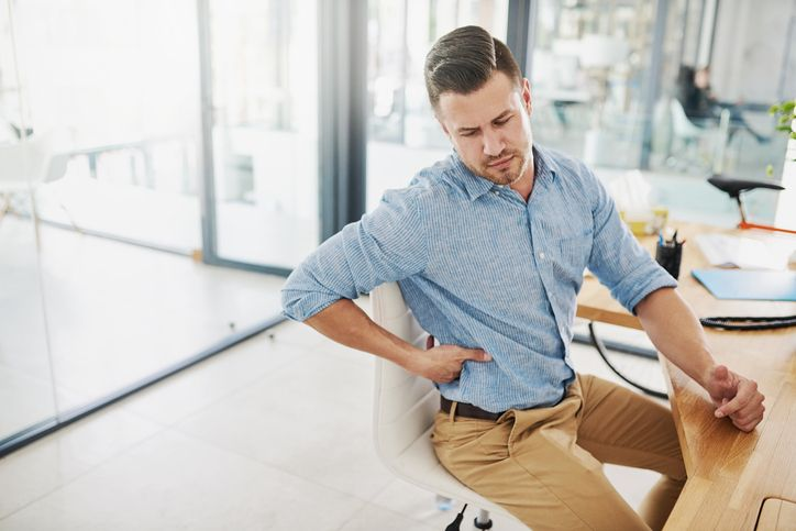 In this day and age where we're frequently sitting for 12 hours a day, we're not moving as much as we should or would like to, which can lead to back pain.