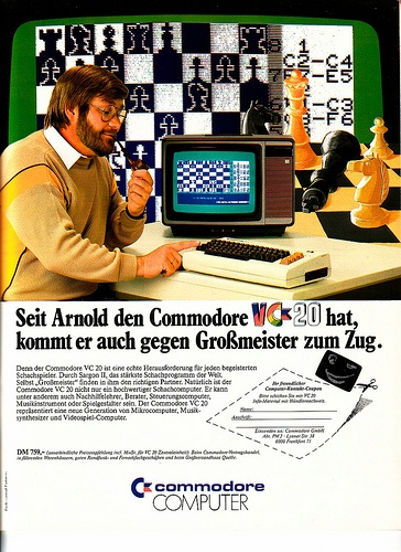Vintage Computer Ads - Commodore VC 20