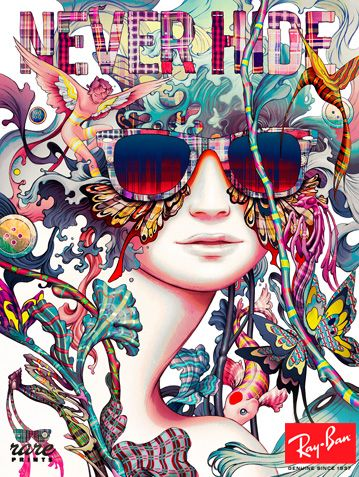 ray ban outlet text  1000+ images about ray ban 75 years on pinterest