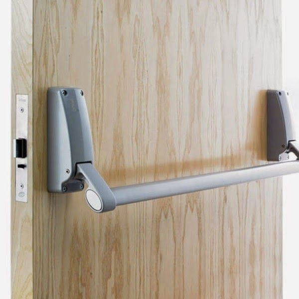 Check out our latest blog post on Blogger and see what we had to do to & 9 best Crash Bar Door images on Pinterest | Carrie Double doors and ...