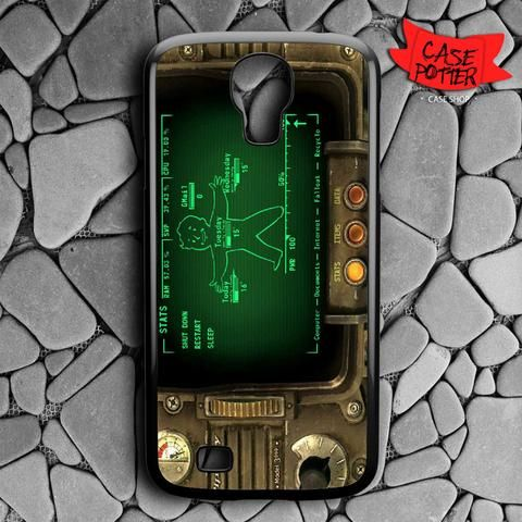 Fallout Pipboy Rainmeter Samsung Galaxy S4 Black Case