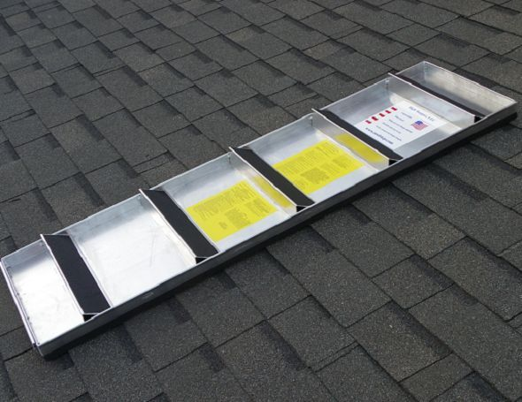 Roof Walk Boards : High stepper roof system quot step walk board
