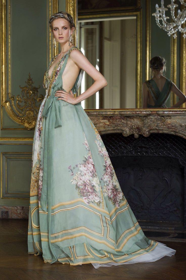 Alberta Ferretti Limited Edition Fall 2015 Couture Fashion Show Collection