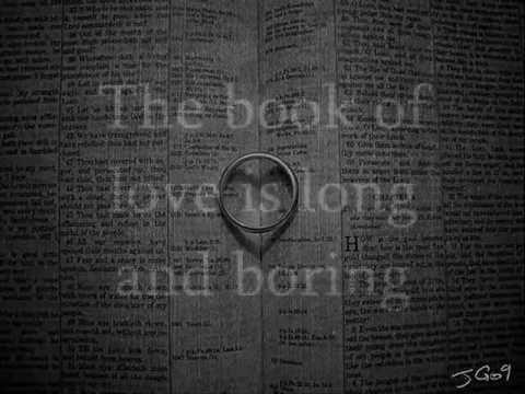 The Book of Love - Peter Gabriel