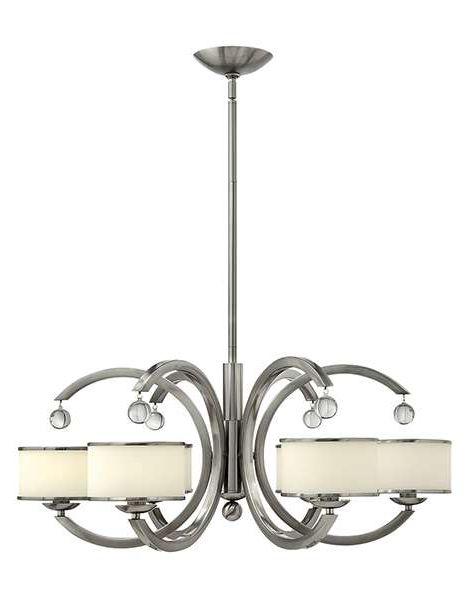 Nowoczesna lampa wisząca MONACO pięknie rozświetli Twój salon lub sypialnię. #mlamp #oświetlenie #lamp #zwis #nikiel #wystrój #wnętrz