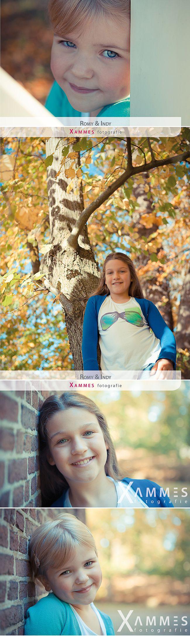 Romy en Indy, Kinderfotografie Elswout, Xammes fotografie