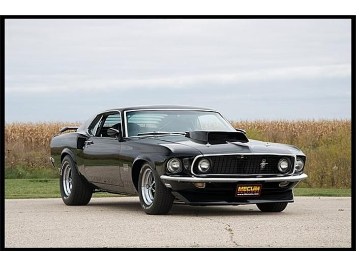 Lot 1969 Ford Mustang Boss 557 Resto Mod ( My Dream Car!