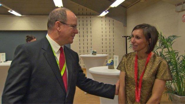 Prins Albert van Monaco vraagt adres van Kim Gevaert