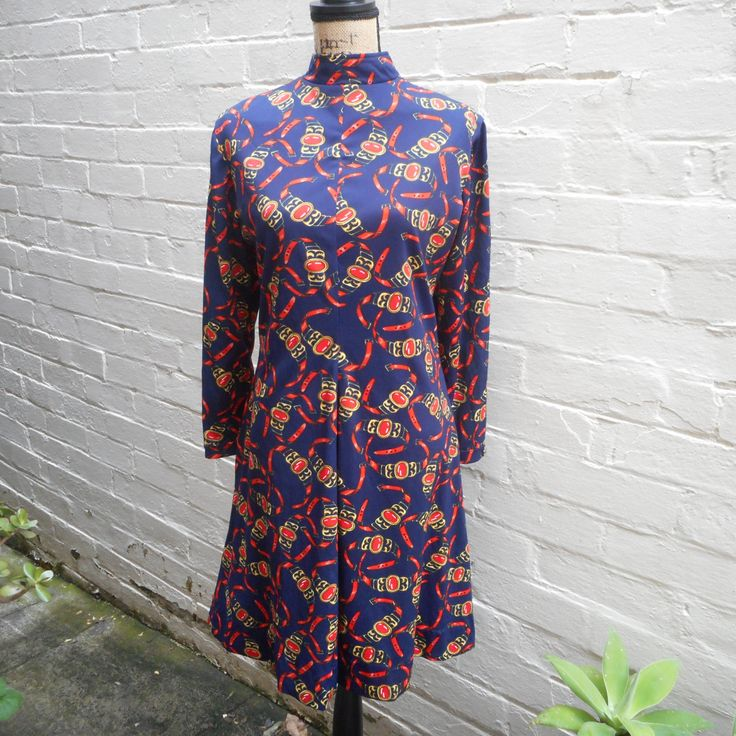1960's Jack Needleman dress by recycology on Etsy
