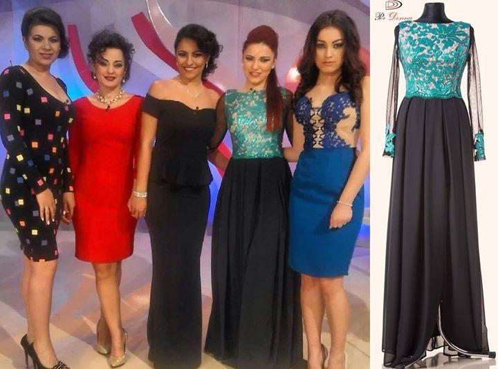 O alta concurenta din casa MIREASA PENTRU FIUL MEU poarta o rochie Per Donna! #perdonna www.perdonna.ro