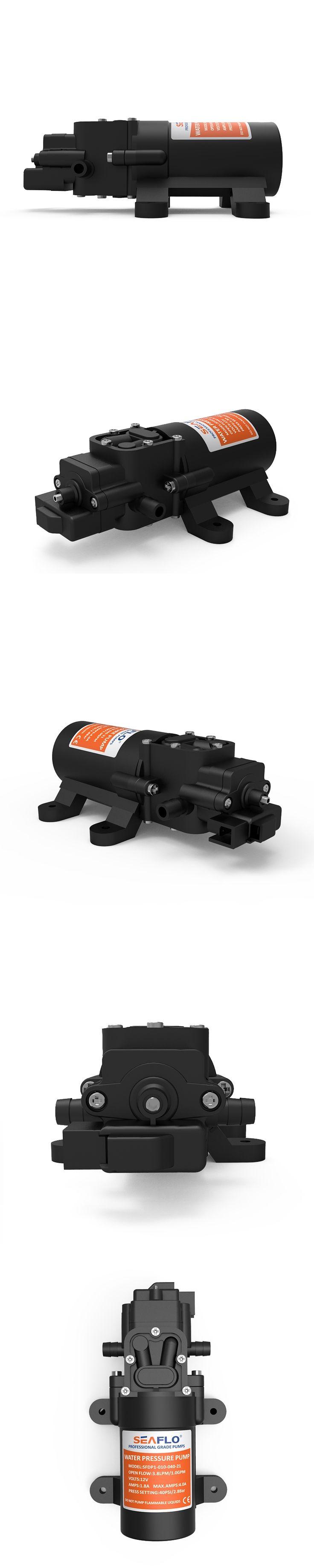 SEAFLO 12V DC Power 1.0GPM Water Pressure Pump System Diaphragm Pump Boat Marine RV