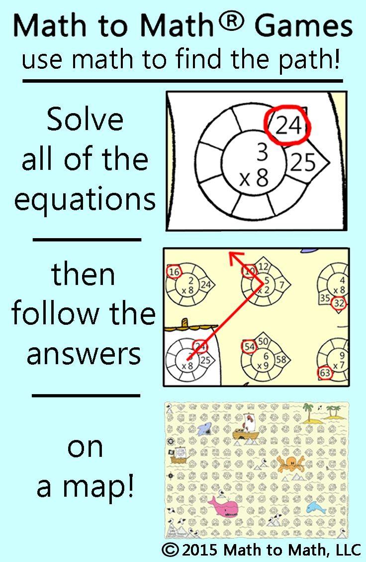 17 best Math to Math® Games images on Pinterest   Math games ...