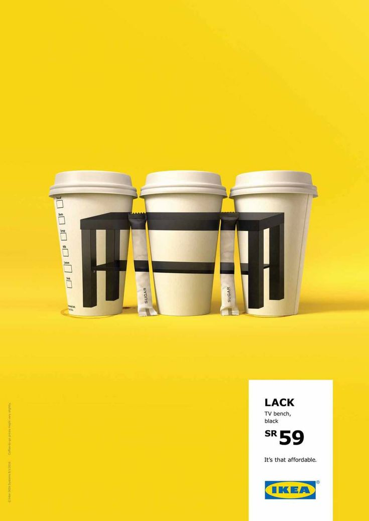 Clever IKEA New Ad Campaign