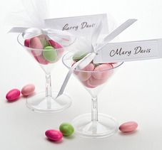 Martini Glass with Tulle http://www.aussieweddingshop.com.au/Product/177/martini-glass-with-tulle