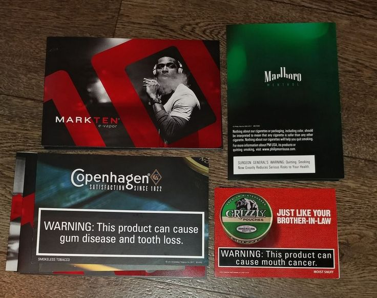 Marlboro Cigarette Mark Ten e vapor Grizzly Copenhagen smokeless tobacco coupons