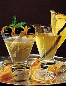 Cocktail au champagne - ELLE