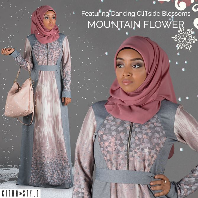 Featuring Dancing Cliffside Blossoms in Mountain Flower Look #NewLook #ModestLook #IslamicDress #ModestDress #IslamicFashion #Hijab #HijabStyles #SemiFormalLook #StreetStyle #CitraStyle #ModestFashion  #ModestStyle #ModestOutfit #IslamicTop #MuslimFashion #MuslimDress #WomensWear #FallWinter