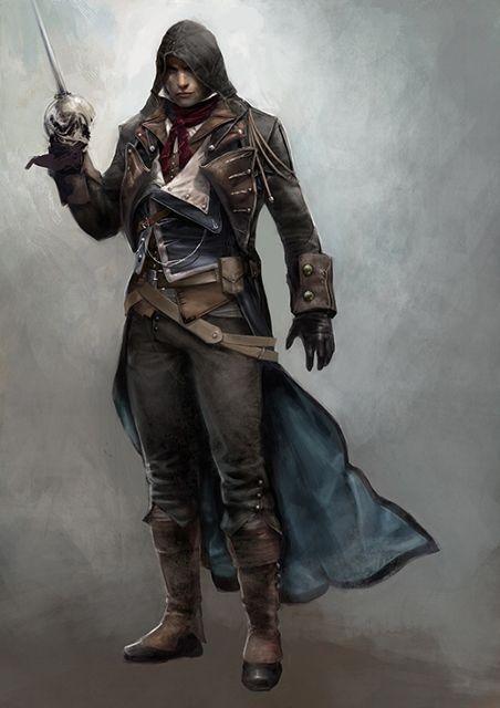 Assassin's Creed Unity's Arno