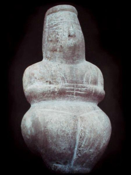 Scultura sarda antica: Dea Madre