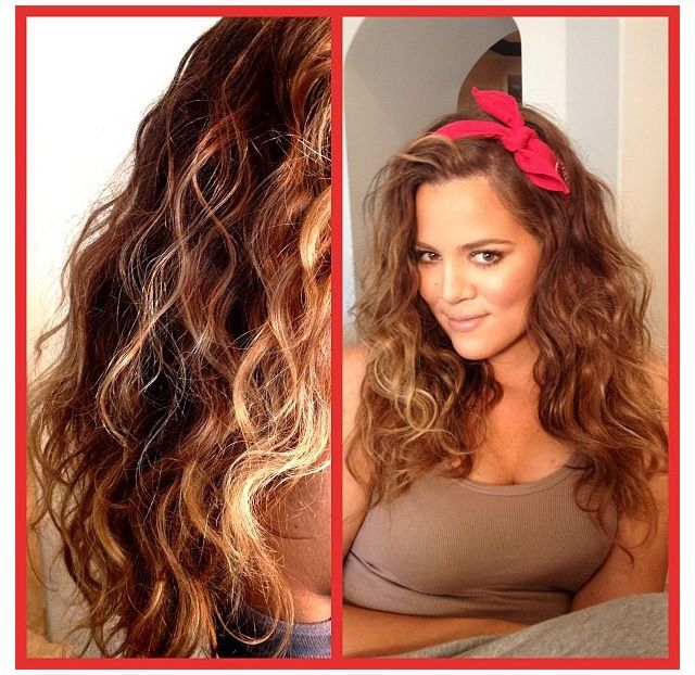 Misssasa Hairstyle   , Bandana Hairstyle, Curly Hairstyles, Fav Kardashians Jenner, Khloe Kardashians,    ️Khloe Kardashian      , Kardashian U2019S,