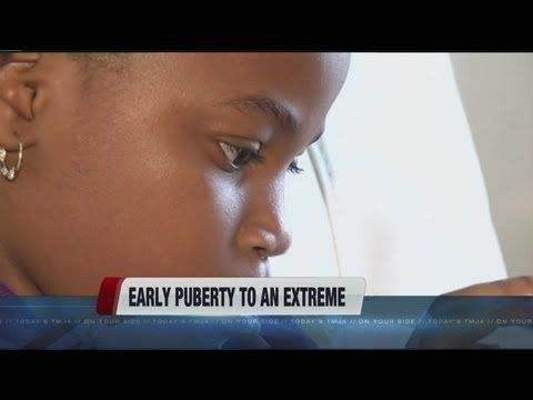 Early puberty to an extreme-includes why and how to prevent early puberty